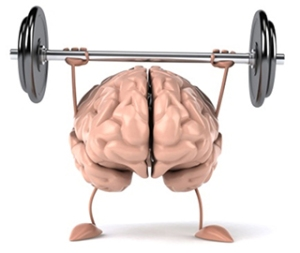A strong brain means a healthy brain, (Bellingham Distance Project)
